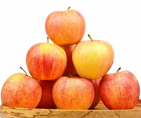Frische rote Äpfel Standard-Bild - 11029747