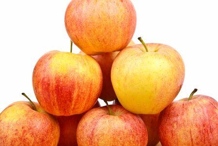 Frische rote Äpfel Standard-Bild - 11029764