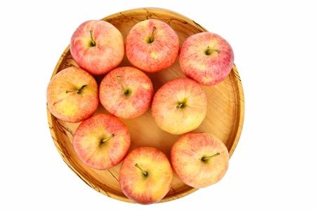 Frische rote Äpfel Standard-Bild - 11029754