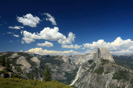 yosemite national park: A magnificent view in Yosemite National Park