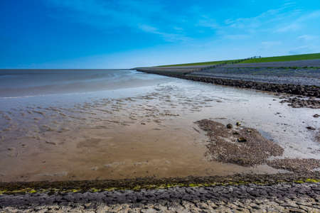 the wadden sea: Wadden Sea And Dike