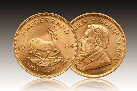 Krugerrand 1 oz gold coin South Africa 1984