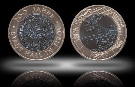 Austria silver niob coin 25 twenty five euros minted 2003