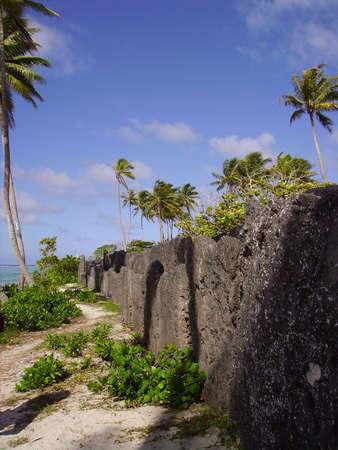 Polynesian cemetery