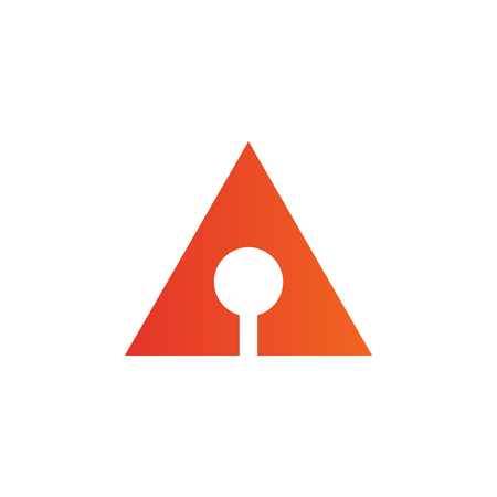 Arrow icon logo design Illustration