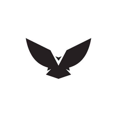 Eagle bird logo icon design vector template