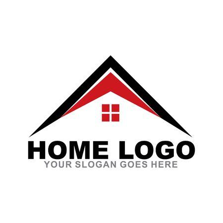 Home logo design inspiration vector icon template
