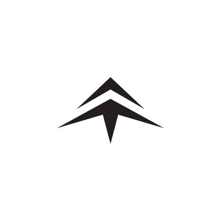 Arrow vector template 版權商用圖片 - 126858382