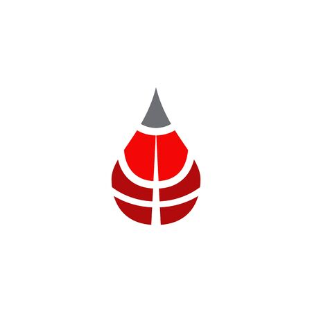 Blood icon design vector template