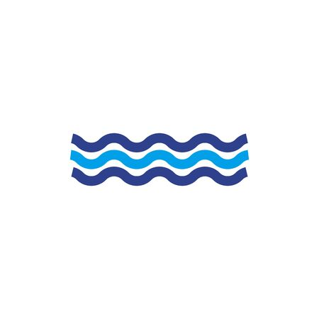 Wave icon  design inspiration vector template