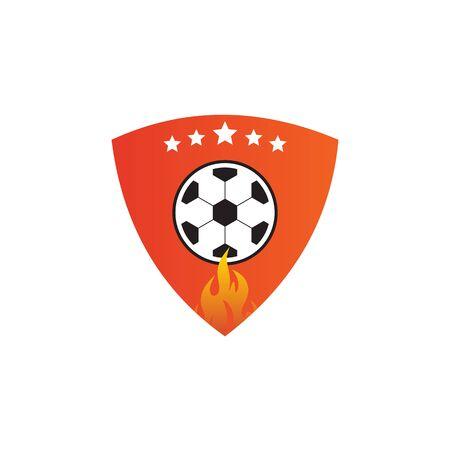 football   design vector template
