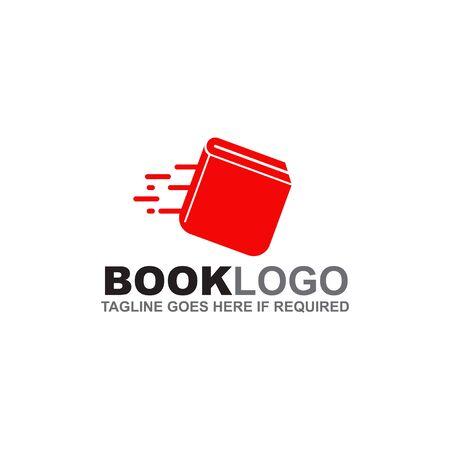 Book logo design inspiration vector template Logo