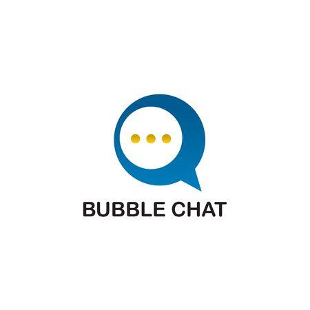 Bubble chat   icon design inspiration vector template