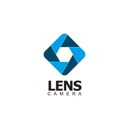 Camera design inspiration vector template