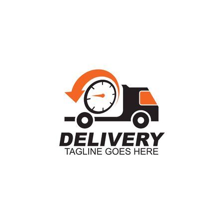 Delivery car  design inspiration vector template