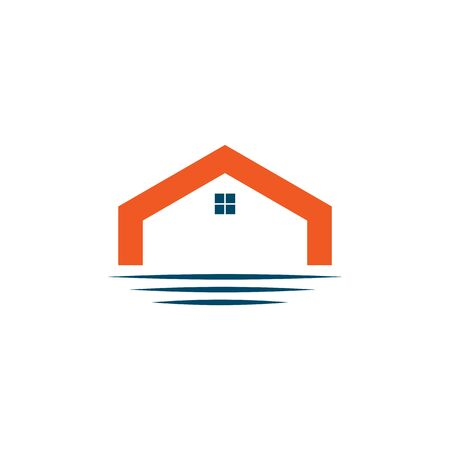 Home logo design inspiration vector template