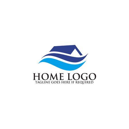 Home logo design inspiration vector template Logo