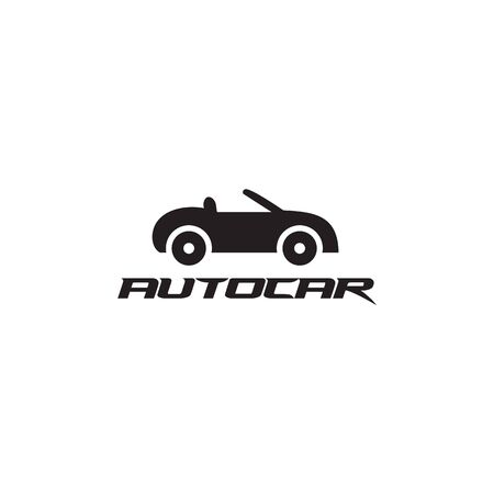 Auto car logo design inspiration vector illustration with isolated background template Foto de archivo - 129154991