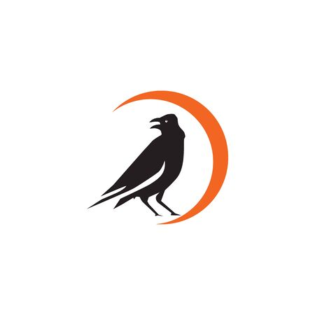 Bird icon logo design inspiration vector illustration with isolated background template Standard-Bild - 129162891
