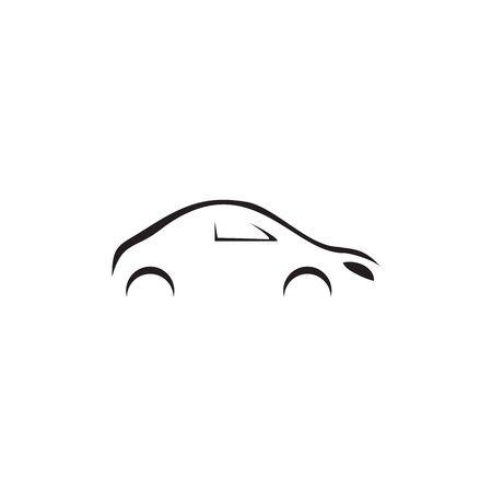 Automotive car logo design concept vector template illustration