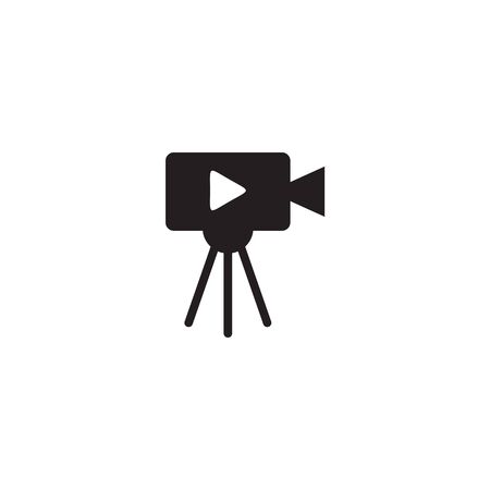 Movie maker logo design inspiraiton vector template Illustration