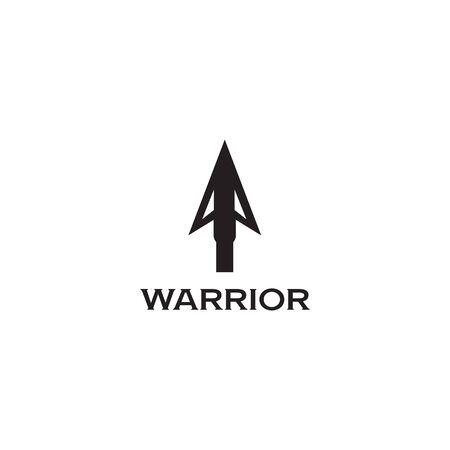 Spear logo design inspiraiton vector template