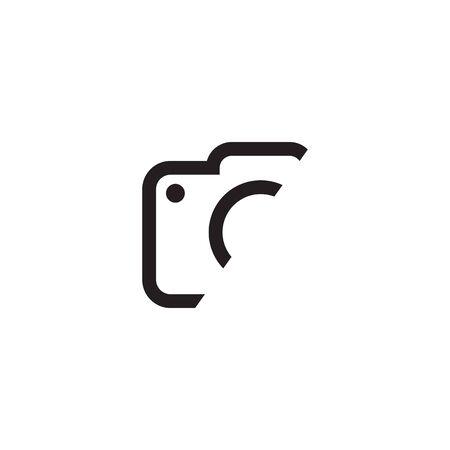 Camera lens logo icon design inspiration vector template Logos