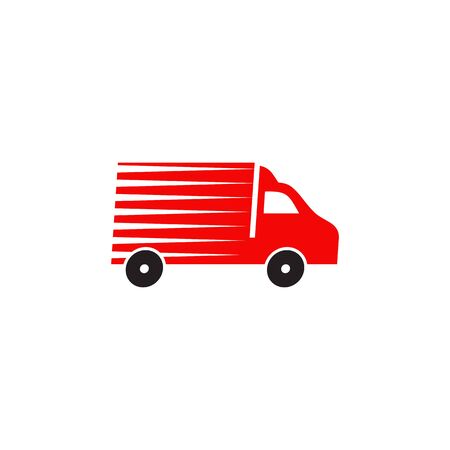 Delivery car logo design inspiration vector template
