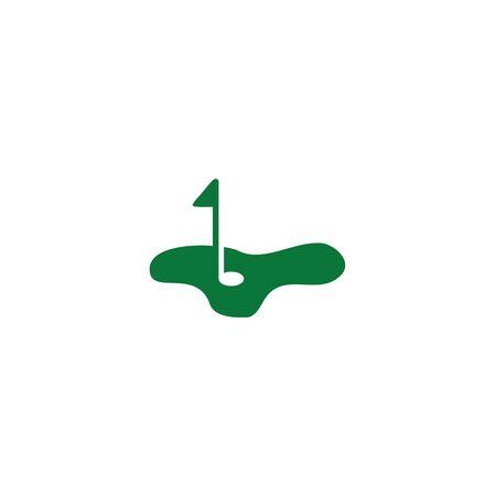 Golf logo icon design inspiration vector template