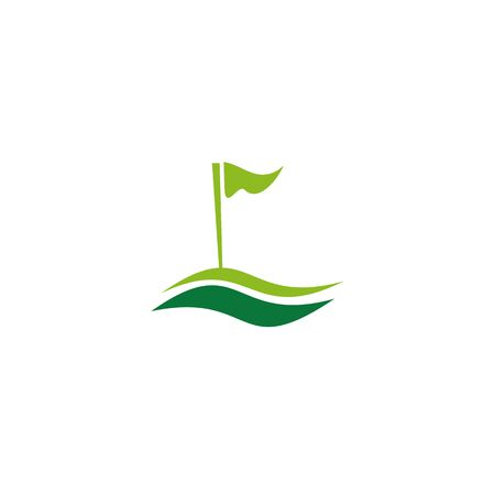 Golf logo icon design inspiration vector template Illustration