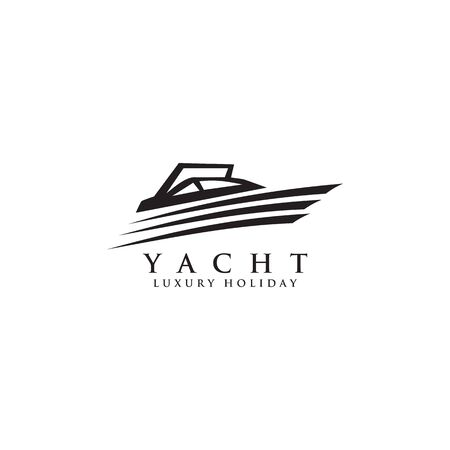 Yacht logo icon design inspiration vector template
