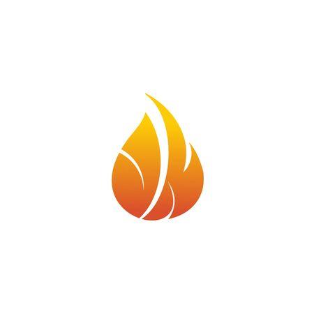 Fire flame icon logo design inspiration vector template Foto de archivo - 133459983