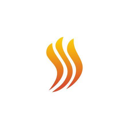 Fire flame icon logo design inspiration vector template Foto de archivo - 133459984