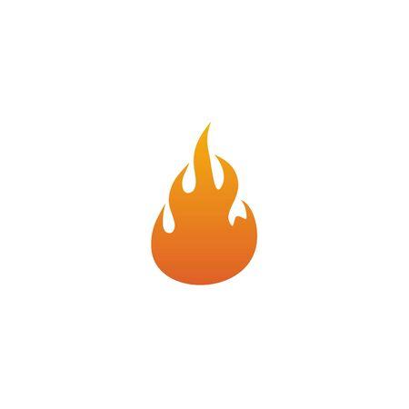Fire flame icon logo design inspiration vector template Foto de archivo - 133459993