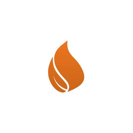 Fire flame icon logo design inspiration vector template Foto de archivo - 133460003