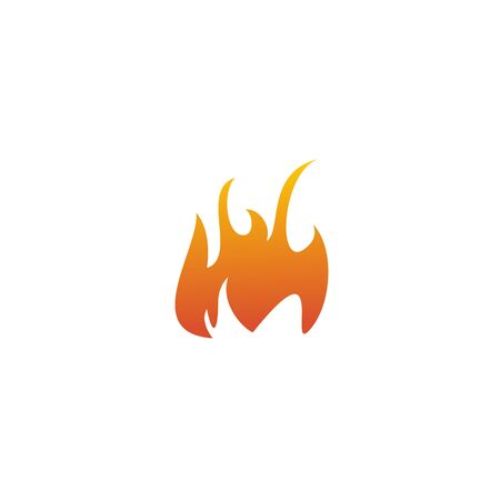 Fire flame icon logo design inspiration vector template Foto de archivo - 133460013