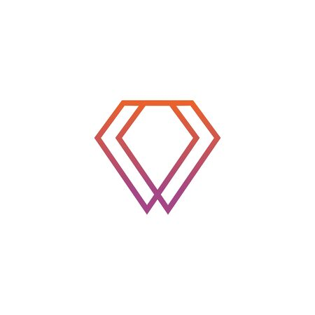 Diamond logo icon design inspiration vector illustration