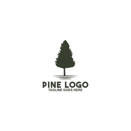 Pine tree icon logo design inspiraiton vector template 版權商用圖片 - 134532307