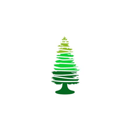 Pine tree icon logo design inspiraiton vector template 版權商用圖片 - 134532331