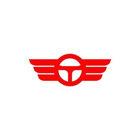 Car steering icon logo design vectortemplate Stock Vector - 134532677