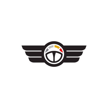 Car steering icon logo design vectortemplate Stock Vector - 134532769