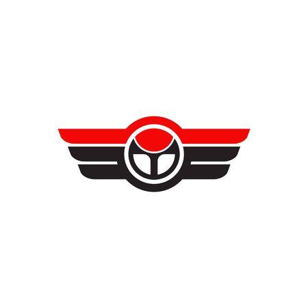 Car steering icon logo design vectortemplate Stock Vector - 134532772
