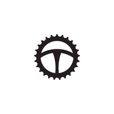 Car steering icon logo design vectortemplate Stock Vector - 134532779