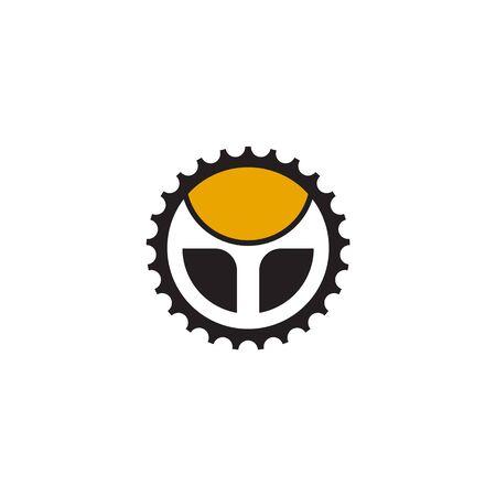 Car steering icon logo design vectortemplate Stock Vector - 134532783