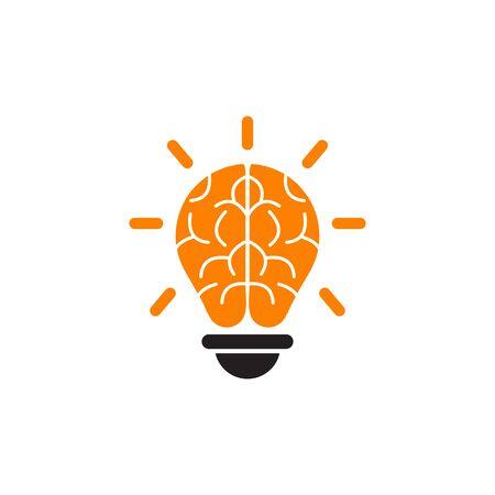 lamp lightbulb logo design inspiration vector icon template