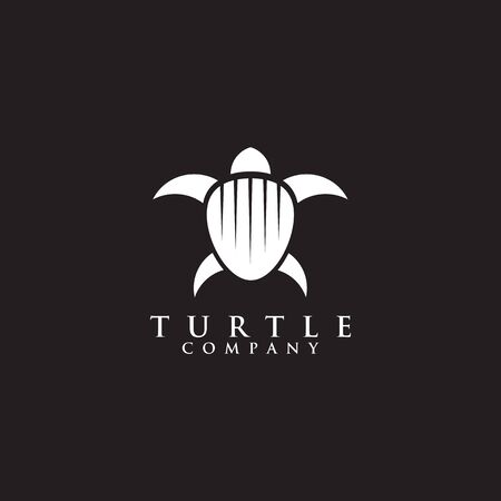 Turtle logo icon design vector illustration template