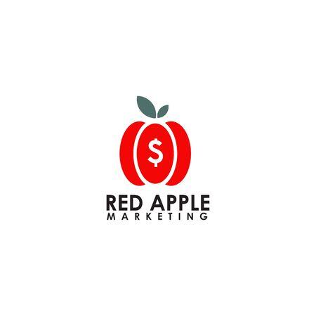 Apple design inspiration vector icon template