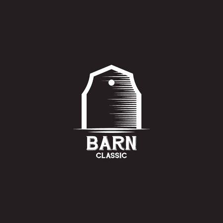 Barn logo design inspiration vector template