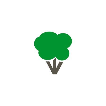 Broccoli icon design vector illustration template Stock Illustratie