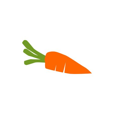Carrot design vector illustration template Stock Illustratie